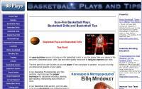 Baskeball plays and tips Άλλη μία πολύ καλή σελίδα για επαγγελματίες στον χώρο της καλαθοσφαίρισης. Περιλαμβάνει πολλές ασκήσεις φυσικής κατάστασης, τεχνικής και τακτικής.