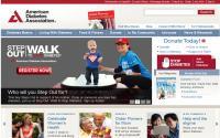 Η Αμερικάνικη Διαβητολογική Εταιρεία Η ιστοσελίδα της Αμερικάνικης Διαβητολογικής Εταιρείας προσφέρει μία άριστη επιλογή για κλινικούς διαιτολόγους που ειδικεύονται σον διαβήτη. Αναπτύσσονται πολλά θέματα διαιτητικής για διαβητικούς ασθενείς.