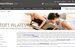 Stott Pilates Η ιστοσελίδα της εταιρείας που εισήγαγε την προπονητική μεθοδολογία pilates στην αγορά. Δίνει πληροφορίες για την φιλοσοφία της, τα προγράμματά της και το εκπαιδευτικό της υλικό. Επίσης, δίνει πληροφορίες για εξοπλισμό, εκδηλώσεις και νέα προγράμματα.