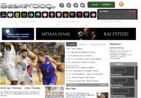 basketblog.gr Ειδησεογραφικό site για το Ελληνικό και διεθνές μπάσκετ. Παρέχει συνεχή ενημέρωση με αφιερώματα, άρθρα από εκλεχτούς δημοσιογράφους και συνεντεύξεις. Θα σας αρέσει αν θέλετε να ενημερώνεστε για το τι συμβαίνει στην Ελλάδα και τον υπόλοιπο μπασκετικό κόσμο.