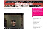 Crossfit London Kettlebell Training Ιστοσελίδα για προγράμματα Crossfit με εξοπλισμό Kettlebell. Ενημερώνει για τη συγκεκριμένη προπονητική μεθοδολογία, τις εκδηλώσεις της και διαθέτει πλούσιο ασκησιολόγιο. Μπορεί κάποιος να πάρει αρκετές ιδέες γι' αυτού του είδους τα προγράμματα.
