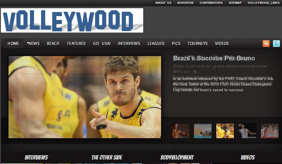 VolleyWood Το site αυτό έχει ως αντικείμενο τη μετάδοση ειδήσεων και συνεντεύξεων από τους πρωταγωνιστές του Βόλεϊ. Το ενδιαφέρον του site βρίσκεται στο ότι μεταδίδει ειδήσεις και γεγονότα από όλο τον κόσμο. Μπορείτε να βρείτε ειδήσεις για τους πρωταγωνιστές του αθλήματος σε όλο τον κόσμο και πληροφορίες που αφορούν στη διεξαγωγή συνεδρίων αλλά και άλλων επιμορφωτικών δράσεων για προπονητές. Όλο το βόλεϊ λοιπόν σε ένα site.