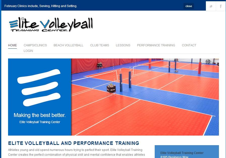 Elite volleybal training center Ένα πολύ καλό site για την φυσική και τεχνική προετοιμασία των βολεϊμπολιστών. Περιέχει πληροφορίες για την ανάπτυξη της φυσικής κατάστασης, προγράμματα αποκατάσταση και πολλά άλλα χωρισμένα ανά ηλικιακή κατηγορία και επίπεδο. Εξαιρετικό site για αγγλομαθείς.