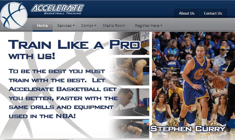acceleratebasketball Μία εξαιρετική ιστοσελίδα για όσους ενδιαφέρονται για την ανάπτυξη της φυσικής κατάστασης και της αθλητικής ικανότητας των μπασκετμπολιστών. Περιλαμβάνει ασκήσεις και βίντεο για φυσική κατάσταση και αποκατάσταση μετά από τραυματισμό. Για αγγλομαθείς.