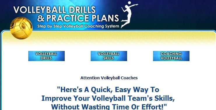 Volleyball drills and practice plans Είναι ένα ενδιαφέρον site  για τους προπονητές βόλεϊ. Μπορείτε να βρείτε πληροφορίες σχετικά με τη μεθοδολογία που πρέπει να ακολουθείται για την κατασκευή αποτελεσματικών ασκήσεων, υποδειγματικά προπονητικά πλάνα και πληροφορίες σχετικά με τη μεθοδική διδακτική των δεξιοτήτων του βόλεϊ.