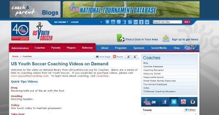 US Youth Soccer Coaching Videos on Demand Πολύ ενδιαφέρον site με πάρα πολλά video προπονητικής ποδοσφαίρου για μικρές ηλικίες                                                                                                                                   .