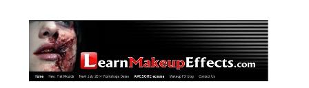 Learn Make-up Effects Εδώ μπορείτε να δείτε κάποιες τεχνικές special effect, τα υλικά, τα εργαλεία και βίντεος με κατασκευές. Με την  εγγραφή- που είναι δωρεάν, αποστέλλονται συστηματικά newsletters και  ο  Στιούαρντ είναι πρόθυμος να απαντήσει σε ερωτήσεις.
