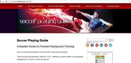 Soccer Playing Guide Μία αρκετά ενδιαφέρουσα ιστοσελίδα για ποδόσφαιρο η οποία περιλαμβάνει σχεδόν τα πάντα. Τεχνική, φυσική κατάσταση, τεχνολογία και πολλά άλλα. Για αγγλομαθείς. Δεν φαίνεται να χρειάζεται συνδρομή