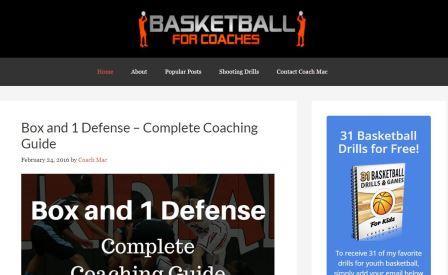 basketballforcoaches Αποτελεί διαδικτυακό τόπο στον οποίο οι προπονητές ανά τον κόσμο μπορούν να ανεβάσουν ολοκληρωμένα άρθρα κοινοποιώντας έτσι τη φιλοσοφία τους. Μπορεί να αποτελέσει πηγή έμπνευσης για το σχεδιασμό της ομάδας σας.