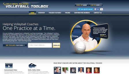 volleyballtoolbox Το site αυτό έχει κατασκευαστεί από προπονητές για τους προπονητές. Αφορά στην εκπαίδευση των προπονητών βόλεϊ όλων των επιπέδων με τη σκέψη ότι επιτυχημένος προπονητής είναι αυτός που εξελίσσεται και χρησιμοποιεί νέες γνώσεις στον προπονητικό του προγραμματισμό. Σκοπός του site είναι να εφοδιάζει με νέες γνώσεις και καινοτόμες ιδέες τους προπονητές βόλεϊ.