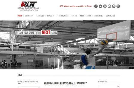 real basketball training Το Real Basketball Training (RBT) είναι ένα συναρπαστικό και μοναδικό πρόγραμμα που προσφέρει πλήρη και ολοκληρωμένη εκπαίδευση στην ανάπτυξη όλων των δεξιοτήτων του μπάσκετ μέσω καινοτόμων μεθόδων διδασκαλίας μας. Το προπονητικό μοντέλο RBT στοχεύει στις ειδικές ανάγκες του ερασιτέχνη, συλλογικού και επαγγελματία αθλητή. Η βελτίωση είναι το θεμέλιο πάνω στο οποίο έχει βασιστεί το RBT. Οι προοδευτικές και καινοτόμοι μέθοδοι εκπαίδευσης διασφαλίζουν ότι οι αθλητές θα έχουν τη δυνατότητα να γίνουν καλύτεροι γρηγορότερα. Στην ιστοσελίδα θα βρείτε οδηγίες για ατομική προπόνηση, ομαδική προπόνηση, προπονητικά καμπ και σεμινάρια και ομαδική προπόνηση.