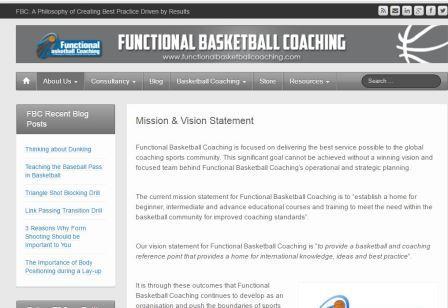 functionalbasketballcoaching Το Functional Basketball Coaching καλύπτει θέματα όπως: Γενικές Αρχές προπονητικής μπάσκετ, αρχές μέσου και προχωρημένου επιπέδου, θέσεις παικτών, ατομικές επιθετικές ικανότητες, ομαδική άμυνα, ομαδική επίθεση, φυσική κατάσταση ομάδας, ατομική φυσική κατάσταση, στρατηγικός σχεδιασμός, επιχειρησιακός σχεδιασμός, περιορισμός