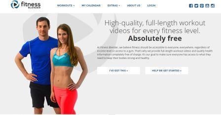 Fitnessblender Δωρεάν προγράμματα εκγύμνασης με βάση τις δικές σας απαιτήσεις. Εισάγετε τα στοιχεία σας και τους στόχους σας κα σχεδιάζει προγράμματα με βίντεο και εικόνες για όλο το ασκησιολόγιο.