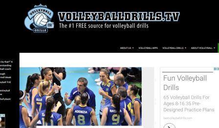 volleyballdrills.tv Βελτιώστε τις γνώσεις σας στο volleyball παρακολουθώντας βίντεο και μαθαίνοντας από ατή την ιστοσελίδα. Δείτε τα δωρεάν βίντεο και διδάξτε τους παίκτες πώς να κάνουν τα καλύτερα καρφιά. Συμβουλές για δεξιότητες και ασκήσεις προσαρμοσμένες σε όλα τα επίπεδα