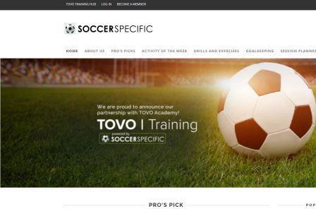 soccerspecific SoccerSpecific είναι μια πλατφόρμα εκπαίδευσης στην προπονητική με την αποστολή της δημιουργίας και διαμοίρασης της υψηλότερης ποιότητας πληροφοριών σχετικά με την προπόνηση, προκειμένου να επηρεάσουν θετικά την ανάπτυξη των παικτών σε όλο τον κόσμο. Στόχος της ιστοσελίδας να παρέχει στους προπονητές τα εργαλεία που χρειάζονται για να δημιουργήσουν και να μοιραστούν αυτές τις πληροφορίες με αποτελεσματικό τρόπο. Το SoccerSpecific.com έχει πάνω από 300 προπονητικές συνεδρίες από 100 κορυφαίους επαγγελματίες του ποδοσφαίρου σε όλο τον κόσμο.