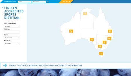 Sports Dietitians Australia: SDA H ιστοσελίδα του κορυφαίου επαγγελματικού οργανισμού της Αυστραλίας για διαιτολόγους που ειδικεύονται στην αθλητική διατροφή. Τα μέλη τους βοηθούν ενεργά τους Αυστραλούς να μεγιστοποιήσουν τους στόχους της άσκησής τους με αξιόπιστη διατροφή.
