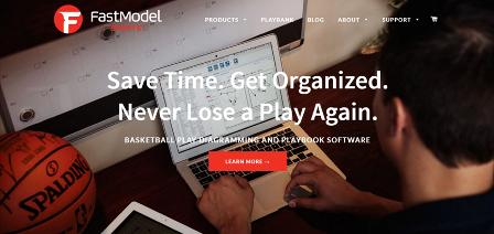 FastModel Sports Ιστοσελίδα που περιέχει λογισμικό και εφαρμογές για προπόνηση φυσικής κατάστασης και τακτικής στο μπάσκετ. Τα προγράμματα απαιτούν συνδρομή.