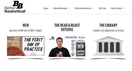 betterbasketball.com Ιστοσελίδα που περιέχει πλούσια βίντεο με ασκήσεις και τεχνικές, μπάσκετ για όλα τα επίπεδα. Για τις περισσότερες παροχές της ιστοσελίδας απαιτείται εγγραφή