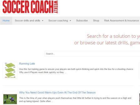 soccercoachweekly Το Soccer Coach Weekly προσφέρει δοκιμασμένα και εύχρηστα πρότυπα προπονήσεων ποδοσφαίρου, προπονήσεις, πρακτικά σχέδια, παιχνίδια μικρού χώρου, προθέρμανση, καθώς και συμβουλές προπόνησης.