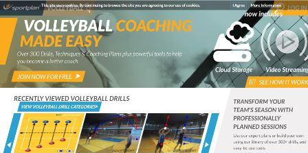 sportplan.net Αυτή η ιστοσελίδα περιέχει μια πληθώρα βίντεο και ολοκληρωμένων προπονητικών προγραμμάτων που οι προπονητές βόλεϊ θα βρουν πολύ ενδιαφέρων. Τα βίντεο παρουσιάζουν βήμα την τεχνική εκτέλεση της άσκησης και βοηθούν στην καλύτερη εμπέδωση του προπονητικού ερεθίσματος.
