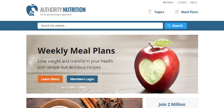 authoritynutrition.com Αυτή η ιστοσελίδα καθημερινά ενημερώνει χιλιάδες ανθρώπους σε θέματα διατροφής βασιζόμενοι πάντα επιστημονικά αποδεδειγμένα. Η αρθρογραφική ομάδα της ιστοσελίδας αποτελείται από ειδικούς του χώρου.