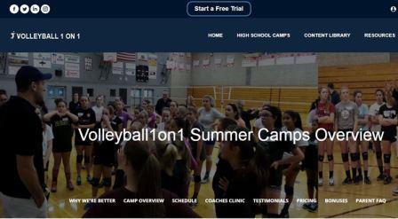 volleyball1on1.com/ Μια ιστοσελίδα με χρήσιμες πληροφορίες για την προπόνηση βόλεϊ τόσο σε κολεγιακό όσο και σε επαγγελματικό επίπεδο. Περιέχει βίντεο και προπονητικά προγράμματα για όλες τις πτυχές της προπονητικής διαδικασίας στο βόλεϊ.