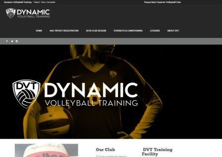 Dynamic Volleyball Training Μια ιστοσελίδα με χρήσιμες πληροφορίες για την προπόνηση βόλεϊ. Περιέχει πληροφορίες βελτίωσης όλων των παραμέτρων της φυσικής κατάστασης στο άθλημα και πληροφορίες για τουρνουά.