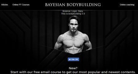 Bayesian Bodybuilding Η ιστοσελίδα αναζητεί την τελευταία επιστημονική γνώση για να διαμορφώσει τις πιο λογικές πρακτικές άσκησης με βάση τα διαθέσιμα επιστημονικά δεδομένα. Σκοπός είναι να εκπαιδεύσει τους αθλητές σωματοδομής για το πώς να αξιοποιήσουν στο έπακρο τη σωματική τους διάπλαση και τη ζωή τους μέσο των μέσων κοινωνικής δικτύωσης (δωρεάν), των επιστημονικών δημοσιεύσεων (δωρεάν) καθώς και του διαδικτυακού coaching (επί πληρωμή).