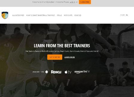 Smart basketball training Αυτή η ιστοσελίδα προσφέρει βίντεο με επίδειξη τεχνικής διαφόρων κινήσεων για αθλητές μπάσκετ. Επίσης, περιέχει και βίντεο με προπονήσεις αθλητών υψηλού επιπέδου.